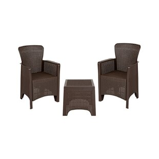 Ward Outdoor 3 Piece Seating Group