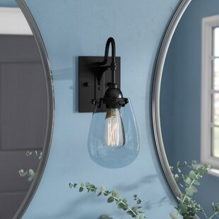 Online Reviews Kiley 1-Light Bath Sconce By Williston Forge
