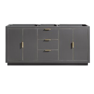 Read Reviews Finck 72 Double Bathroom Vanity Base Only ByEverly Quinn