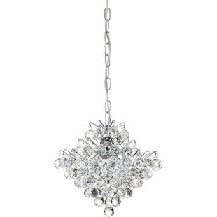 Willa Arlo Interiors Faun 4-Light Crystal Pendant