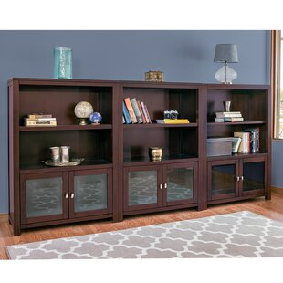 Tonya Library Bookcase (Set Of 3) by Canora Grey Cool