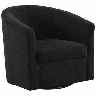 Hand Swivel Barrel Chair