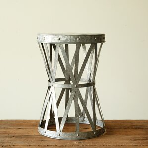 Casual Country End table by Creative Co-Op