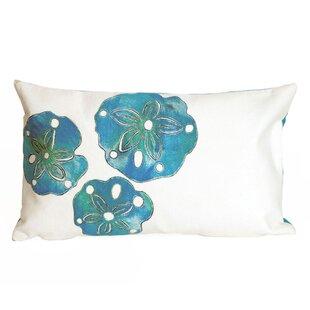 Hugo Sand Dollar Indoor/Outdoor Lumbar Pillow