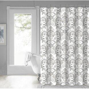 Price comparison Sophocles 100% Cotton Shower Curtain ByAstoria Grand