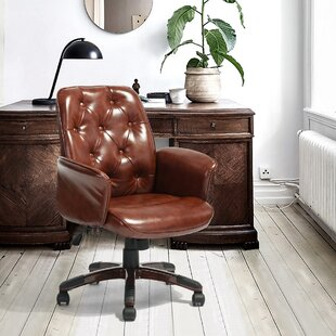Pancoast Ergonomic Executive Chair by Charlton Home Great price