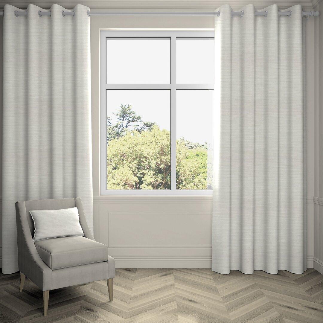 Agan Hamleton Textured Eyelet Blackout Thermal Curtains
