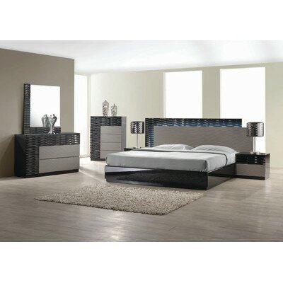 Orren Ellis Kahlil Platform 5 Piece Bedroom Set Size: Queen