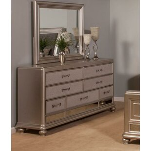 Harmony 7 Drawer Dresser with Mirror