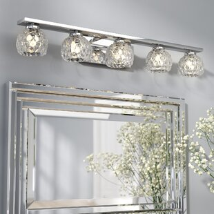 Willa Arlo Interiors Aidy 5-Light Vanity Light