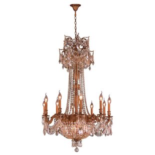 Reimer 15-Light Empire Chandelier by Astoria Grand