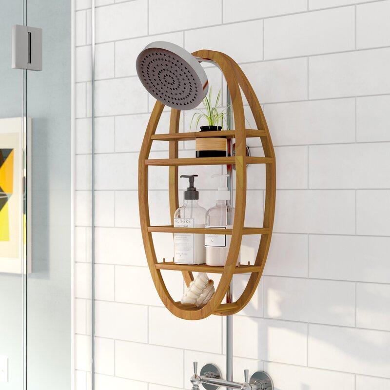 Askins Teak Shower Caddy