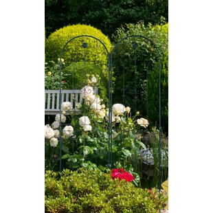 Mimms Iron Gothic Trellis (Set Of 2) By Sol 72 Outdoor