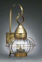 Gary 2-Light Outdoor Wall Lantern by Long..