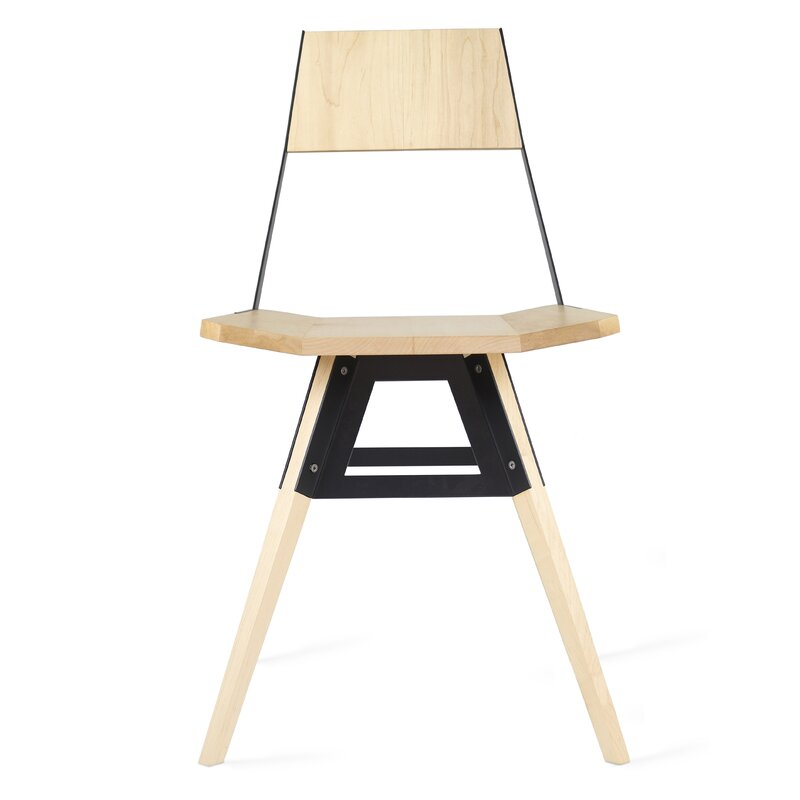 Tronk Design Clarke Solid Wood Dining Chair Perigold