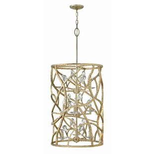 Willa Arlo Interiors Diandre 9-Light Cylinder Pendant