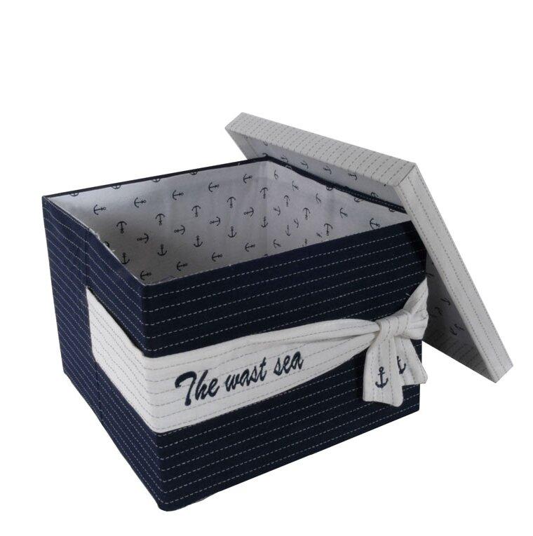 Harriet Bee Fabric 3 Piece Basket Set Wayfair