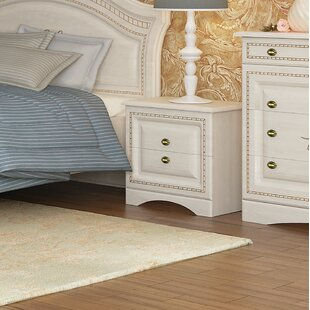 August Grove Cormiers 2 Drawer Nightstand