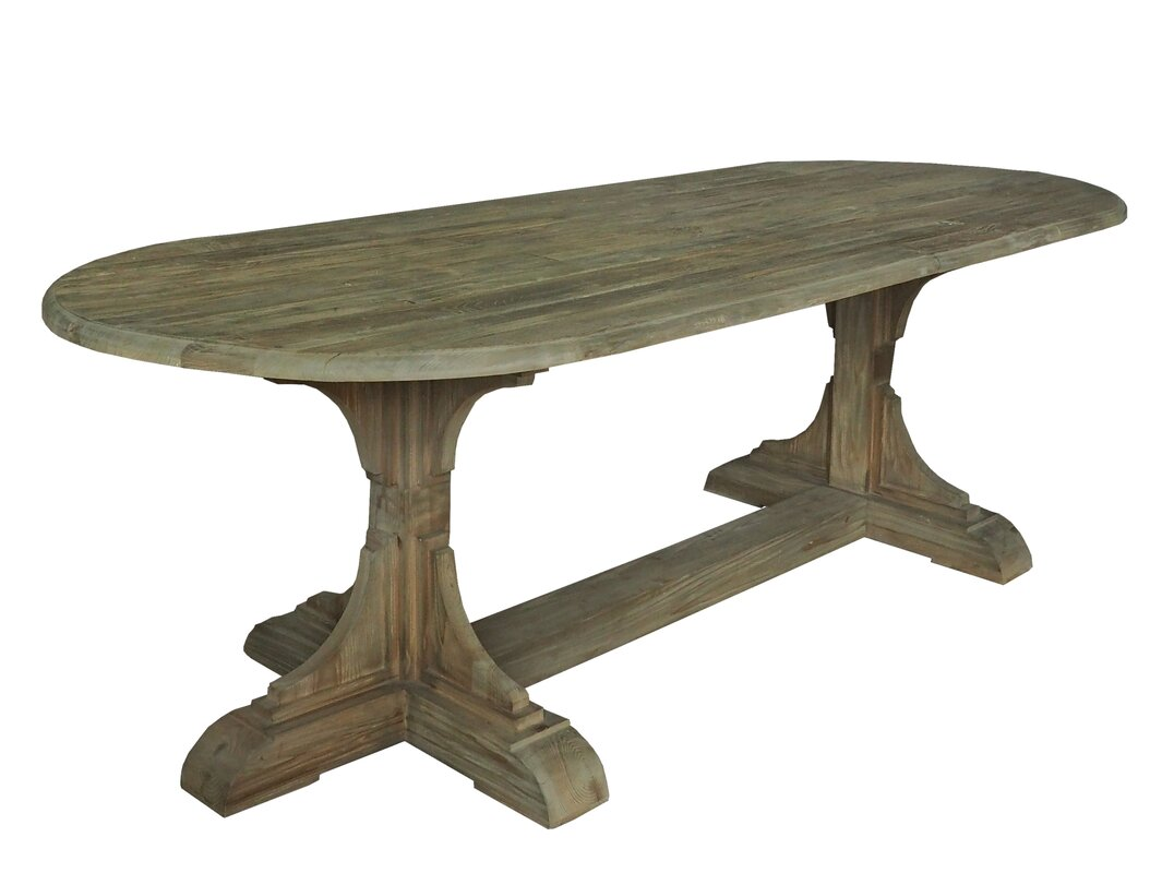 Beautiful rustic decor find for your dining room! Dining Table.