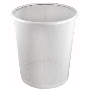 Artistic Products Urban Punched Business Garbage Can Metal Waste Basket
