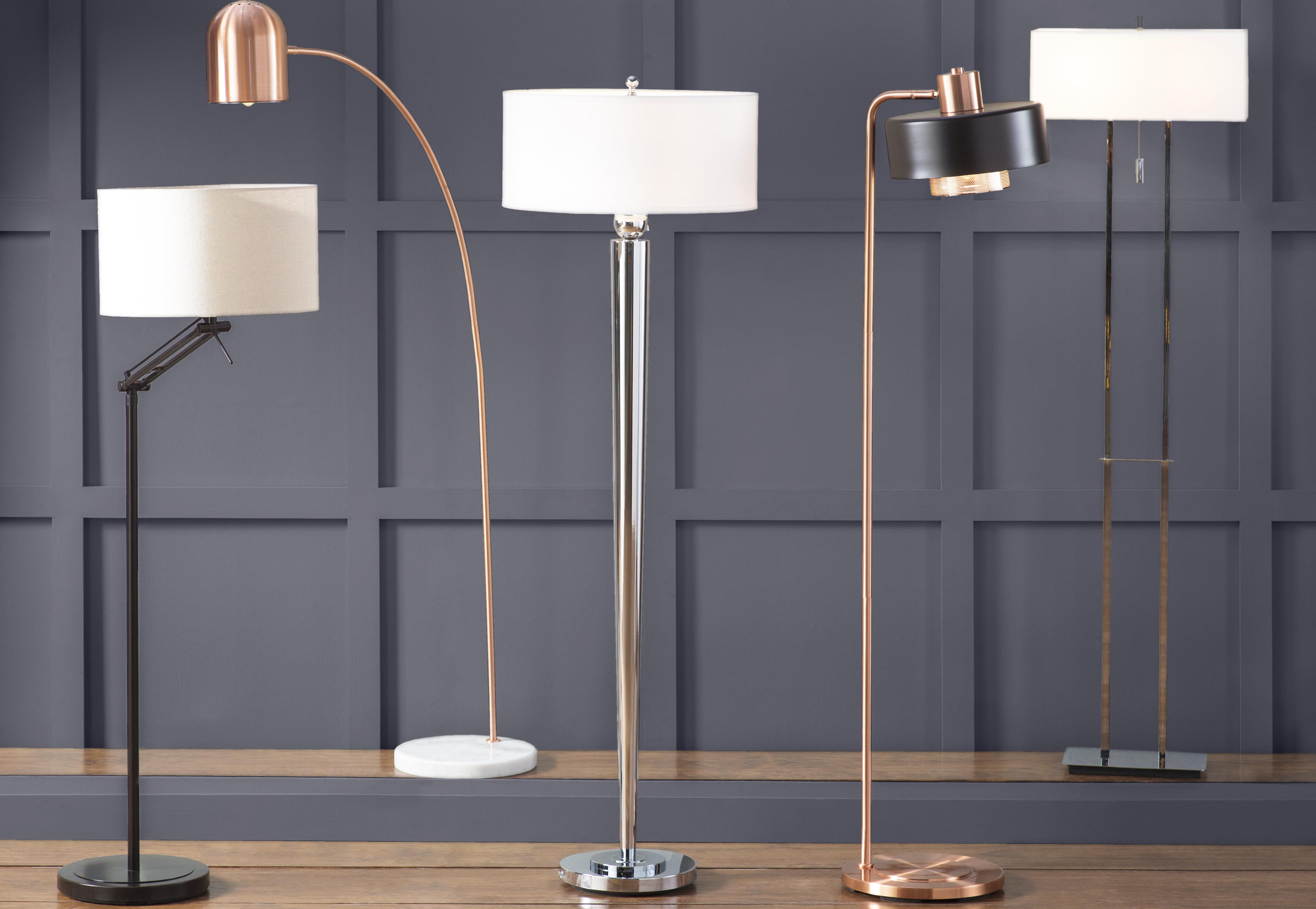 Wildon home emilio 60 floor lamp reviews wayfair