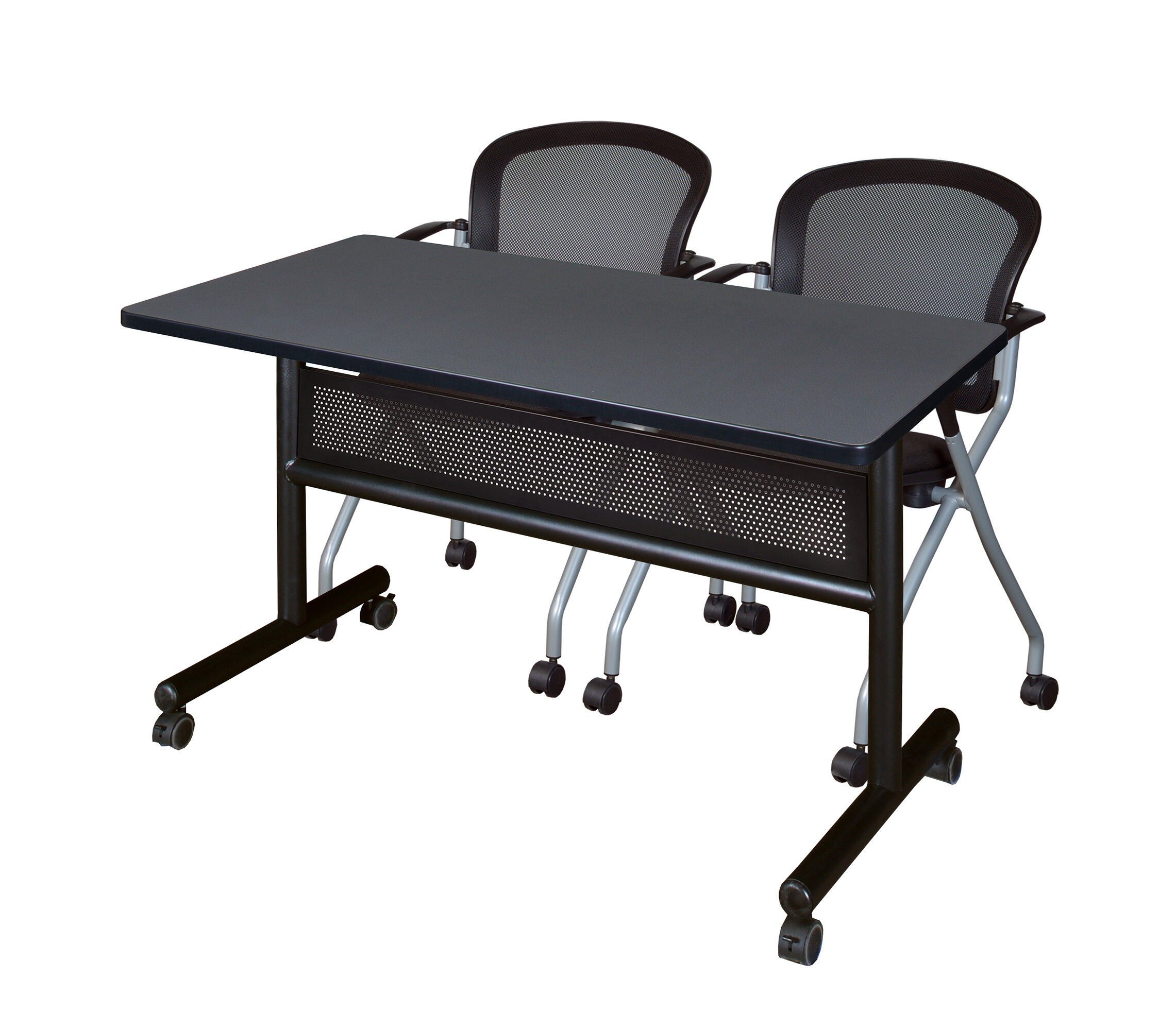 Grey Computer Training Tables You Ll Love In 2021 Wayfair