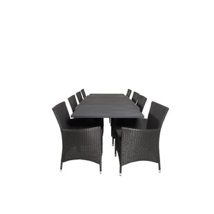 Geir 8 Seater Dining Set With Cushions Image