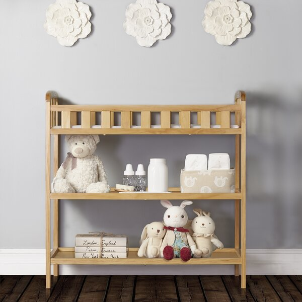 Dream On Me Emily Changing Table With Pad Reviews Wayfair