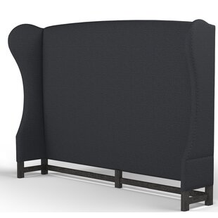 Augustine Upholstered Wingback Headboard By Canora Grey