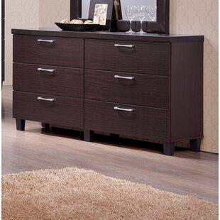 Emmeline 6 Drawers Double Dresser