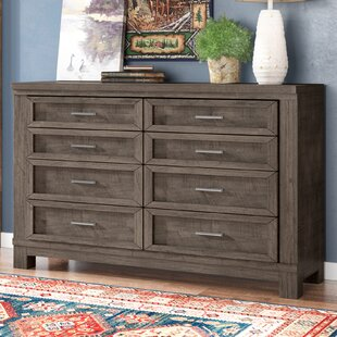 Greyleigh Sallie 8 Drawer Double Dresser
