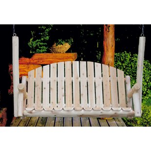 Country Porch Swing by Lakeland Mills