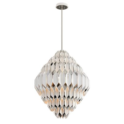 Haiku 17-Light Geometric Chandelier Corbett Lighting