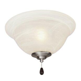 3-Light Bowl Ceiling Fan Light Kit By Alcott Hill Ceiling Lights