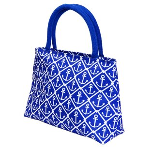 Insulated Lunch Anchors Picnic Tote Bag