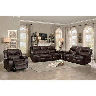 Best Reviews Baltic Glider Reclining Configurable Living Room Set by Red Barrel Studio Reviews (2019) & Buyer's Guide