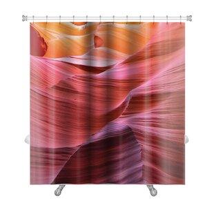 Landscapes Antelope Canyon Premium Shower Curtain