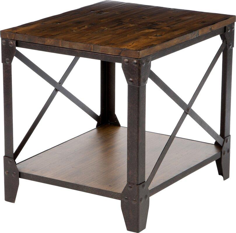 magnussen pinebrook end table & reviews | wayfair