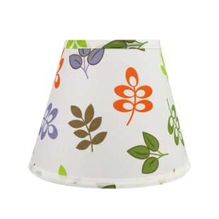 Comparison Transitional Hardback 9 Fabric Empire Leaves Lamp Shade By Ebern Designs
