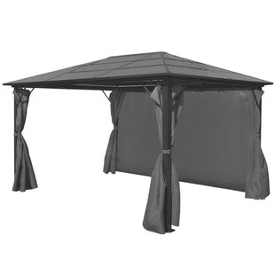 Botelho 4m X 3m Aluminium Patio Gazebo By Sol 72 Outdoor