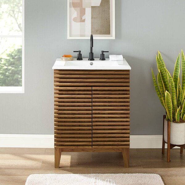 Bathroom Vanity With Legs Wayfair