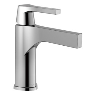 Delta Zura Single hole Bathroom Faucet and Diamond Seal Technology