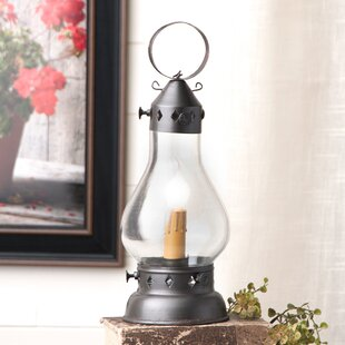 Gracie Oaks Jaramillo Small Hurricane Lantern 13