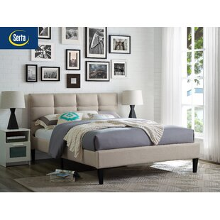 Francis Upholstered Platform Bed by LifeStyle Solutions