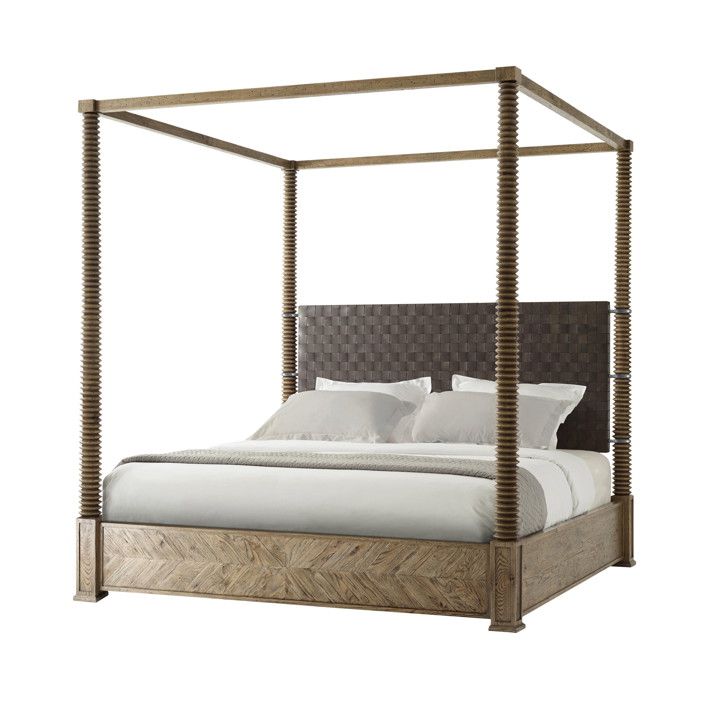 - Theodore Alexander Weston King Canopy Bed Perigold
