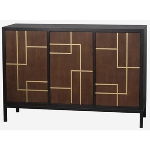 Zana 3 Door Accent Cabinet by Wrought Studio
