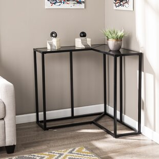 Klem Wrap Around Console Table Ebern Designs