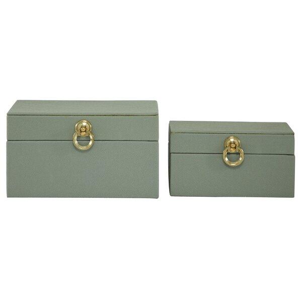 Navy Blue Decorative Box Wayfair