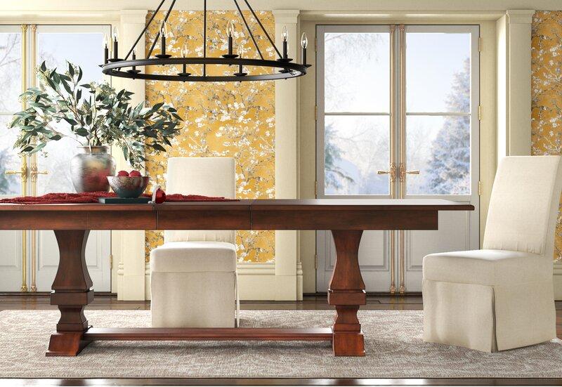 Schaffer Extendable Dining Table Reviews Birch Lane