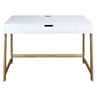 Beaty Smart Solid Wood Computer Desk by Mercer41